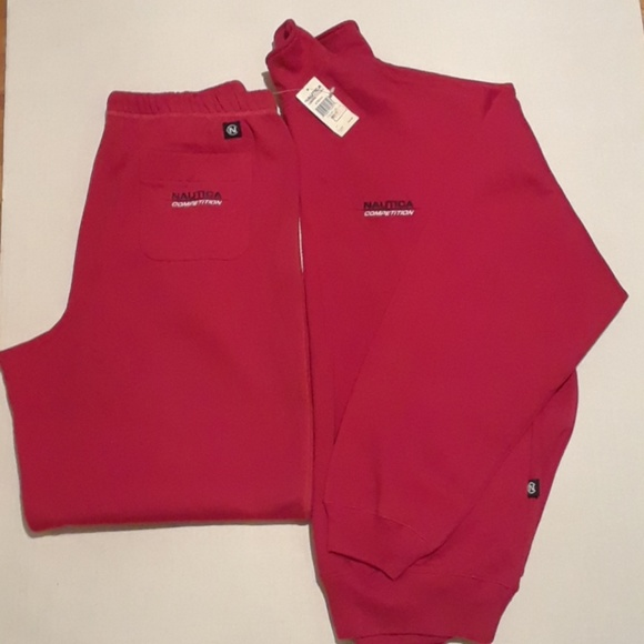4355990041591 Vintage Nautica Competition Matching Sweat Suit